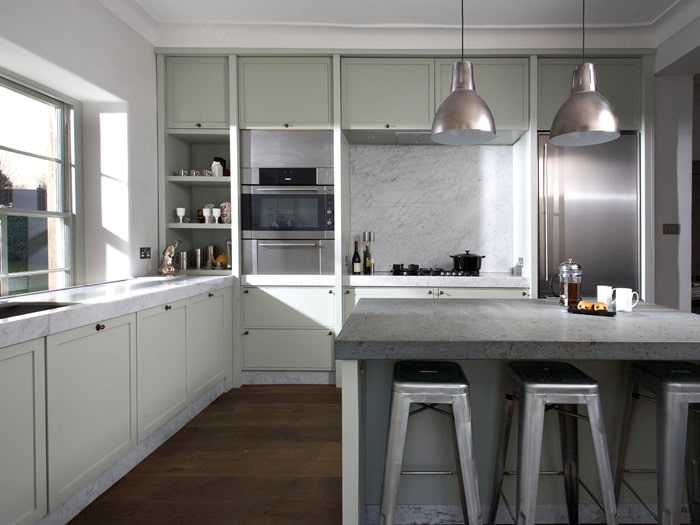 Luxury modern georgian kitchen patrick porter kitchens for Georgian style kitchen designs