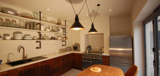 LIGHT INDUSTRIAL STYLE IN EDWARDIAN BATH TOWN HOUSE